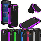 samsung s5 phone cover - For Samsung Galaxy S5 Active G870 Shockproof Hybrid Rugged Combo Hard Case Cover