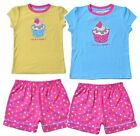 Size 3 4 6 Girls PJ Pyjama Pajama TWEET TWOO Yellow Blue Pink Cupcake Kids