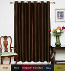 "RETURNED ITEM! Wide Width Nickel Grommet Top Blackout Curtain 80"" by 84"" Panel"