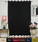 "RETURNED ITEM! Wide Antique Brass Grommet Top Blackout Curtain 100""by120"" Panel"