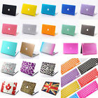 Matt Rubberized Hard Case Cover + Keyboard Cover For MacBook Air Pro 11 13 15 ''