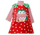 Bonnie Jean Christmas Holiday Owl Fleece Jumper Set Baby Girls 12M-4T