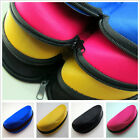 New Zipper Eye Glasses Sunglasses Hard Case Box Portable Protector Holder 4Color