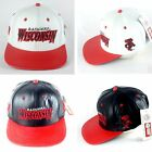 Badgers Wisconsin, LOGO TEAM NFL BASEBALL LEATHER CAP