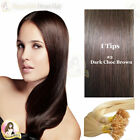 "22"" DIY kit Indian Remy Human Hair I tips/micro beads  Extensions  AAA GRADE #2"