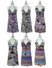 NWT Women O Ring Halter Summer/Beach Dress/SunDress with Empire Waist