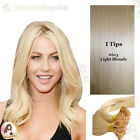 "26""DIY kit Indian Remy Human Hair I tips/micro beads  Extensions  AAA GRADE #613"