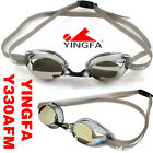 NEW YINGFA Y330AFM SWIMMING GOGGLES ANTI-FOG UV PROTECTION SILVER GOLD FREE SHIP