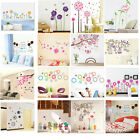 DIY Flower Tree Art Removable Vinyl Wall Sticker Decal Mural Home Room Decor