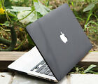 Black Rubberized Hard Case Cover For Macbook Pro 13 A1278 & Retina Pro 13 ''