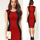 CHEAP 4 Colors VINTAGE Women Celeb Style Stretch Pencil Tunic Evening Prom Dress