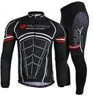 2015 Long Sleeve Cycling outdoor sports Jersey and Pant Wear Clothing size M-XXL