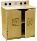 Learningground School Daycare Furniture Birch Wood Play Stove