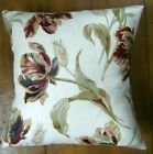 """Cushion Pillow Cover Laura Ashley Gosford Paprika Floral Pattern Fabric 16"""""""