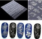 Lots 3D Gold Decal Stickers Nail Art Tip DIY Decoration Stamping Manicure  HOUK