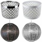 Ornate Moroccan Style Easy Fit Ceiling Light Shade Lamp Pendant Decoration