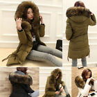 NEW Women Thick Leisure Winter Warm Slim Real Fur Collar  Real Down Hood Coat