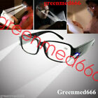 LED Reading Glasses Presbyopia Presbyopic Lighted Magnifying Head Lamp w CaseBox