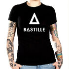 BASTILLE DISTRESSED DESIGN ROLL UP PARTY T-SHIRT - ASSORTED - S / XXXL NICE!!