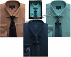 New Yarn Dyed Boxed Shirt &tie Set Office Formal Businessman Style By Tom Hagan