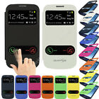Smart Window Leather Case Flip Back Cover Case For Samsung Galaxy S3 i9300