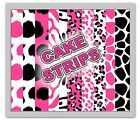 print edible images - Animal Print Edible Image Topper Cake Strips Wraps Frosting Sheets Pink Zebra