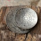 Decorative Etched Metal Dish Jewellery Trinket Storage Large or Small Bowl Plate