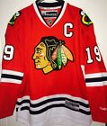 JONATHAN TOEWS BLACKHAWKS MENS PRO CUSTOMIZED REEBOK HOCKEY JERSEY