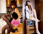 Woman Unique Qualities Socks Loveliness Fishnet Lace Top High School Stockings