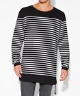 NEW Ksubi - Sailor Stripe Long Sleeve Tee Black | Long Sleeve Tees
