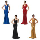Sparkly Long Sequins Bridesmaid Evening Party Ball Gown Prom Debut Maxi Dresses