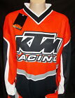 New KTM Motocross MX Jersey XS Polyester KTM MX Shirt or for Casual Wear