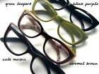 Meow Mix Cat Eye Reading Glasses 9 Eyeglass Frame Colors High Optical Quality