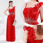 BIG PROMO Prom Ball Cocktail Party beaded Maxi Long Dresses Formal Evening Gowns