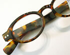URBAN ORB Flattened Oval Round Reading Glasses Tortoise Retro Focus Eyewear