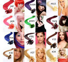 "AAA+18""-32"" Fashion Remy Human Hair Nail Tip Extensions 100s 50g-100g More Color"