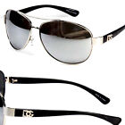 New DG Eyewear Fashion Designer Sunglasses Mens Womens Black Retro Pilot Shades