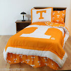Tennessee Volunteers Comforter and Sham Twin to King Size Reversible