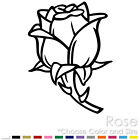ROSE TRIBAL GARDEN FLOWER DECORATION CAR WALL TILE VINYL DECAL STICKER (R-01)