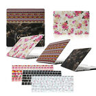 """Laptop Rubberized PC Hard Case Keyboard Cover For Macbook Air/ Pro 11""""13""""15""""inch"""