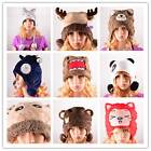 Beanie Cap Hat Fleece Soft Plush Children Kids Costume  Cosplay Toys Many Styles