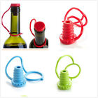 1pcs Silicone Seasoning Beer Bottle Cap Stopper Plug Red Wine Stopper 3 Colors