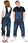 Relaxed Fit Dungarees - Overalls for men and women - Dark Blue