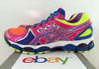 New Womens Asics Gel Nimbus 14 Lite Brights Size 10 Neon Pink 15 16 Show Neutral