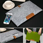 "Woolen Felt Laptop Sleeve Bag Case Cover for Apple MacBook Air Pro 11"" 13"" 15"""