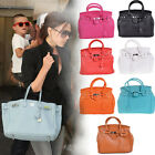 Ladies PU Leather Celeb Handbag Tote Shoulder Bag Satchel Messenger Vintage Bag