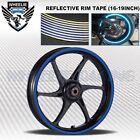 REFLECTIVE RIM TAPE WHEEL STRIPE MOTO BIKE AUTO DECAL STICKER 16 17 18 19 INCH $8.9 USD on eBay
