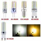 3W 4W 5W 7W G4 G9 E14 SMD 3014 LED Warm Cool White Lamp Bulbs Corn Light Lots