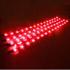 6x Waterproof 12''/15 DC 12V Motor LED Strip Underbody Light For Car Motorcycle