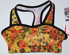NWT New Alpha Factor Short Crop Top Hologram Leopard Animal Print Cute Adult